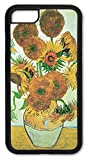 Cell Phone Cover - Slim Fit - Compatible with Apple iPhone 6 Plus and 6S Plus (Larger Size iPhones) - Van Gogh - Sunflowers