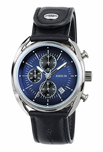 Breil Orologio Cronografo Quarzo Uomo con Cinturino in Pelle TW1528