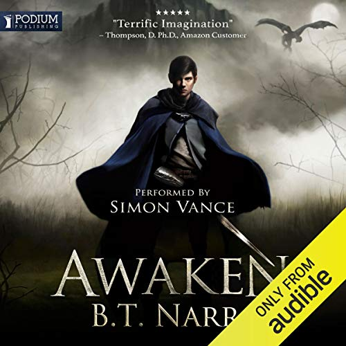 Awaken audiobook cover art