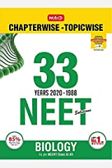 33 Years NEET-AIPMT Chapterwise Solutions - Biology 2020 Kindle Edition