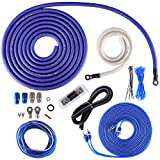 Skar Audio 1/0 Gauge OFC Complete Amplifier Installation Wiring Kit, SKAR0ANL-OFC