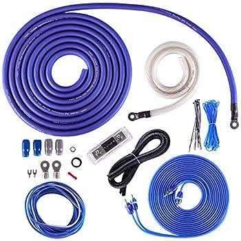Skar Audio 1/0 Gauge OFC Complete Amplifier Installation Wiring Kit SKAR0ANL-OFC