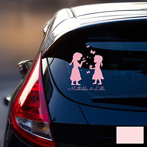 Ilka Parey Sticker Autocollant Voiture Pare-Brise Arrière véhicule autocollant bébé Reine des Neiges Frozen Kinder M1872
