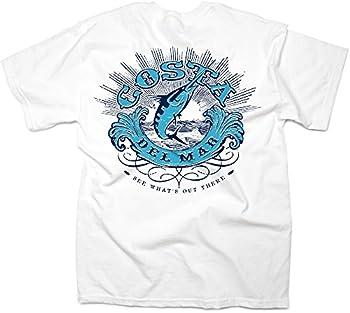 Costa Del Mar Men s Costa Classic Short Sleeve T Shirt White XX-Large