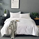 SORMAG Bedding Duvet Cover Queen Size 3 Piece, Ultra Soft Double...