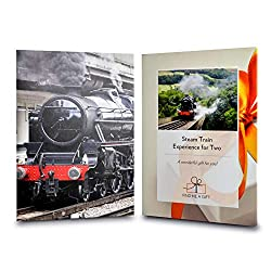 Enjoy the countryside aboard a wonderful steam train for two. Take in the beautiful views and choose from 8 UK locations. Take a journey back in time and enjoy a fun-filled, nostalgic day out. This experience is sold by the number 1 gift experience p...