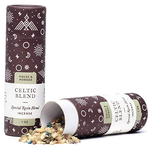 Shamans Market Celtic Blend Resin Incense 1 oz
