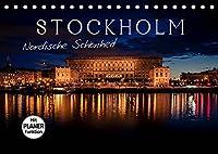 Stockholm - Nordische Schoenheit (Tischkalender 2022 DIN A5 quer): Die Stadt der Inseln (Geburtstagskalender, 14 Seiten )