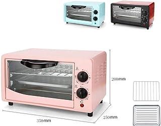 mkjia Mini horno 12L 600W 60min Fermentación de doble capa Galletas horneadas Pan DIY Regalos para niños Introducción a la cocina