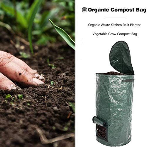 Fantastic Deal! JIAJU PE Compost Bag Organic Fertilizer Bag Lawn Pool Probiotic Bag Compost Bag-Dura...