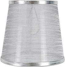 Luxshiny Kronleuchter Lampenschirme Stoffblase Lampenschirm Stoff Tischlampe Zubeh/ör f/ür Tisch Home Hotel Restaurant Cremefarben
