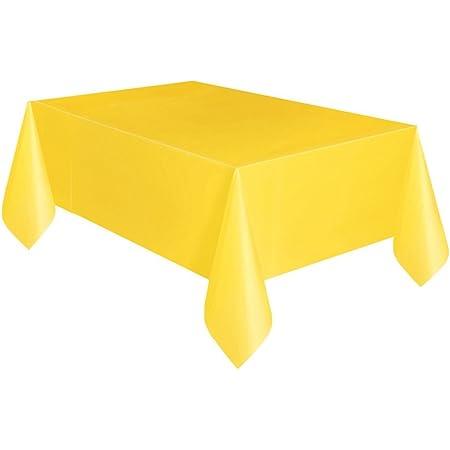 Tablecloth coprimacchia Square in TNT Yellow cm 100x100 cf 25 pcs