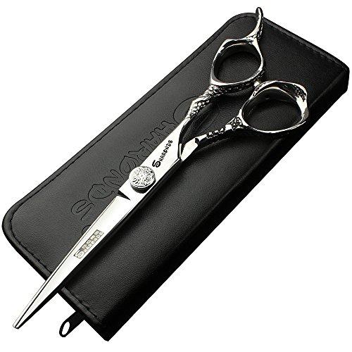 6.0inch Japón 440C profesional Peluquería Tijeras para cortar pelo alta calidad peluquería Tijeras
