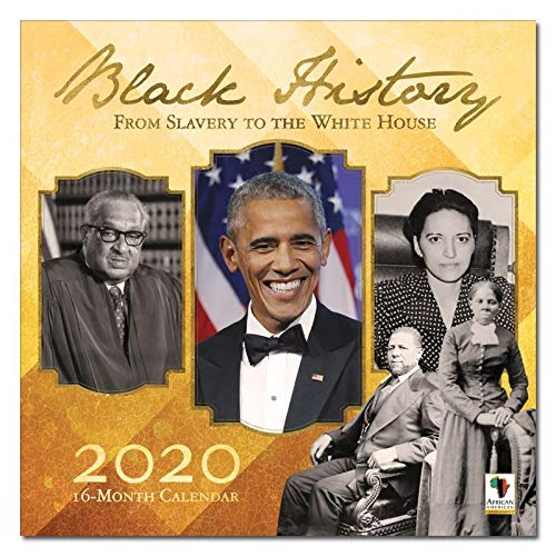 African American Expressions 2020 Wall Calendars - 2020-2021 Monthly Calendars Celebrating Black Culture & History - 12x12 Hanging Calendar - 16 Months - Black History