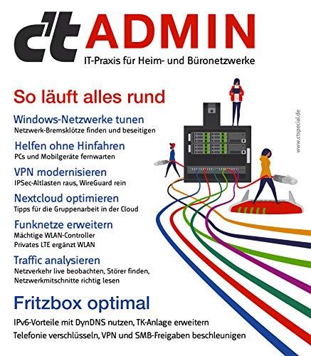 c't Admin (2020): IT-Praxis für Heim- und Büronetzwerke