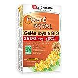 Forté Pharma - Gelée Royale Bio 2500 mg | Complément Alimentaire à base de Gelée Royale Bio - Immunité | 20 ampoules