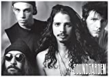 Soundgarden/B/W Group Chris Cornell Poster Drucken (91,44 x