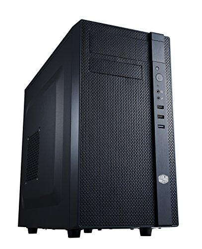 Cooler Master N200 Case per PC 'microATX, Mini-ITX, USB 3.0, Pannello Laterale in maglia' NSE-200-KKN1