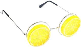 QPRER - Gafas De Sol,Amarillo Novedad Patrón Clásico Niña IR De Compras Gafas De Sol Verano Niños Diario Al Aire Libre Gafas Niño Seaside Fiesta Decoraciones Cumpleaños Día del Niño Regalo