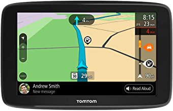 TomTom Go Comfort 6 Inch GPS Navigation Device with Updates via Wi-Fi, Real Time Traffic, Free Maps of North America, Smar...