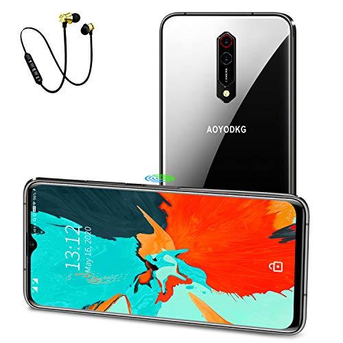 Smartphone Offerta del Giorno 4G LTE, Android 10 Octa-core Cellulari Offerte (2020) 6GB RAM 64GB ROM, 6.51 pollici Waterdrop HD+ Schermo,8MP+16MP Fotocamera,4500mAh,Dual SIM Telefonia Mobile (viola)