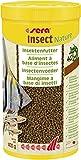 sera Insect Nature (1,5mm) 1000ml - 100% Protein aus nachhaltiger Quelle - nachhaltiges Insektenmehl als Proteinquelle bzw. Fischfutter fürs Aquarium, Granulat, ohne Farb- & Konservierungsstoffe