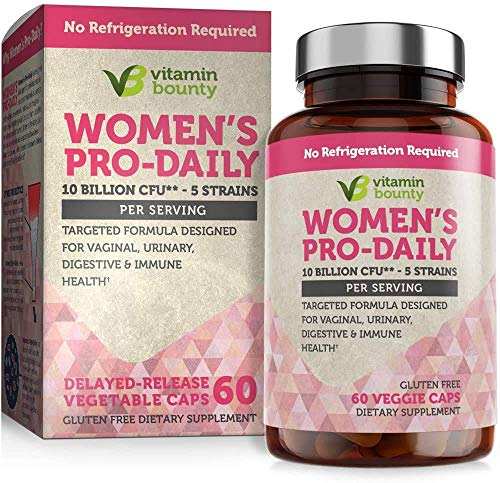 Vitamin Bounty Probiotic & Prebiotic for Women - 10 Billion...