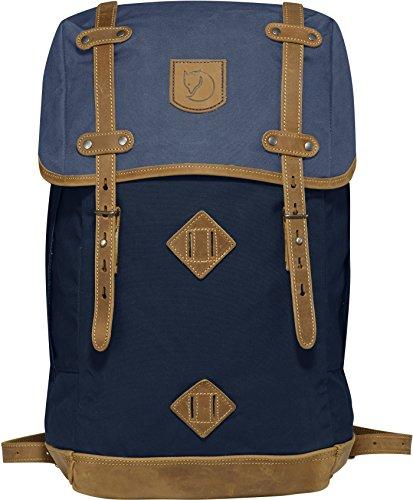 Fjallraven - Rucksack No. 21 Large Backpack, Fits 17' Laptops, Dark Navy-Uncle Blue