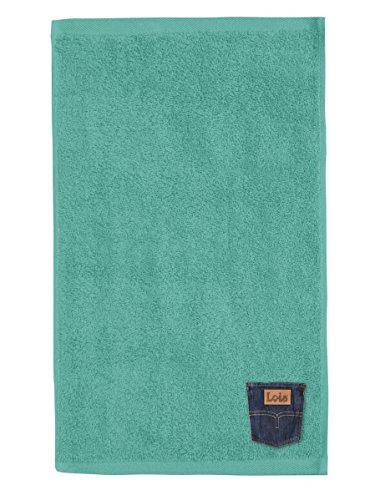 Lois Toalla de Playa, Azul Turquesa, 90x170 Cm