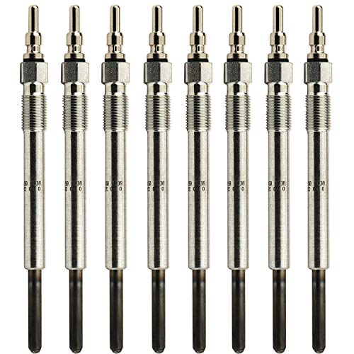 Sporthfish Glow Plugs Replace ZD-11 F4TZ12A342BA Compatible for 1995-2003 Ford 7.3 L - (Pack of 8)