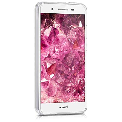 kwmobile Huawei GR3 / P8 Lite SMART Hülle - Handyhülle für Huawei GR3 / P8 Lite SMART - Handy Case in Pink Transparent - 3