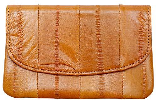 Becksöndergaard Damen Geldbörse Handy Classic Camel Braun | Handlich klein für Geld & Karten | Weich & strapazierfähig aus weichem Leder - 100002-126