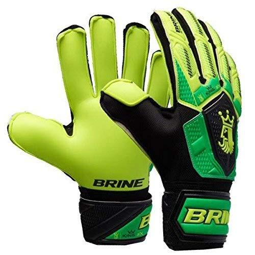 Brine King Match 3X Goalie Gloves (White/Purple,...