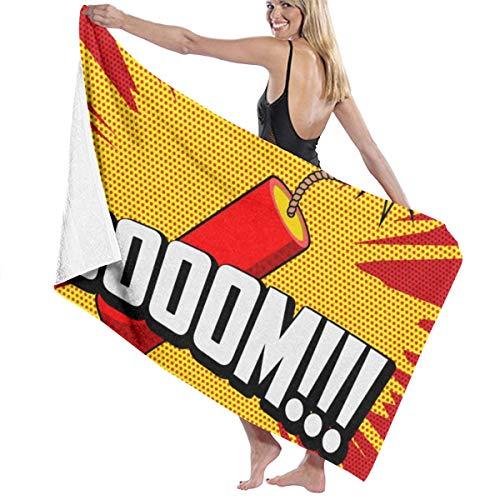 Zachary douchehanddoek Sherman Boom Goes The Dynamite 130 x 80 cm
