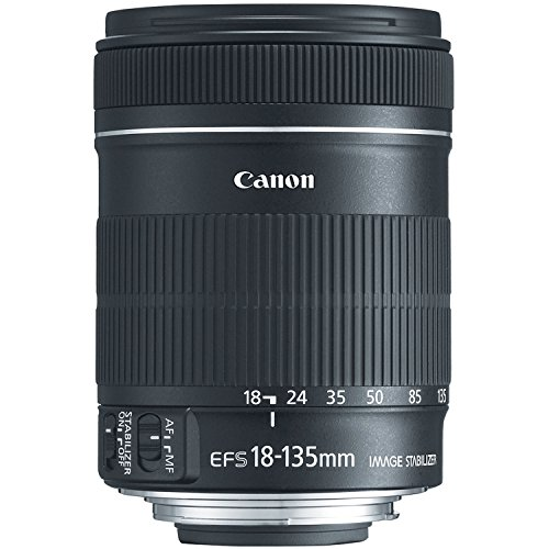 Canon EF-S 18-135mm f/3.5-5.6 IS Standard Zoom Lens for Canon Digital SLR Cameras (New, White...