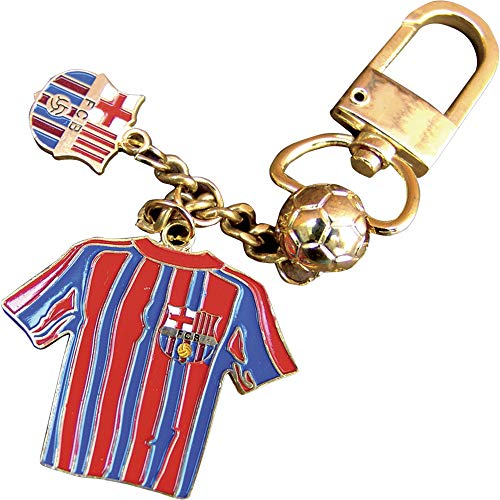 Llavero oficial del FC BARCELONA 3 piezas con diseño de