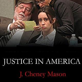 Justice in America audiobook cover art