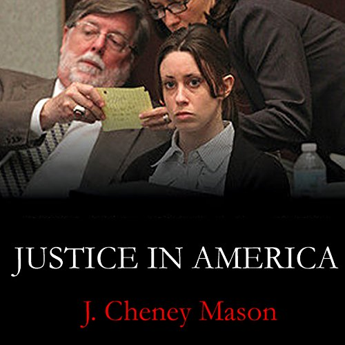 Justice in America audiobook cover art