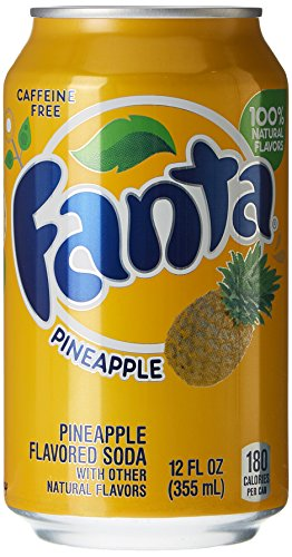 Fanta Pineapple Canettes 12 x 35 cl
