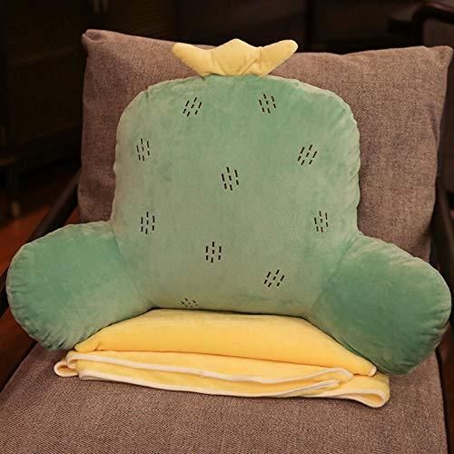 NPYANYAN Bureau-hoofdkussen, voor riem, voor stoel, stoel, rug, sofa, grote kussens, schattige grootte, luidsprekers, dames