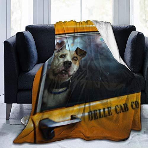 "Affordable shop FleeceBlanket50""x60""- Dog Look Friend Machine HomeFlannelFleeceSoftWarmPlushThrowBlanketforBed/Couch/Sofa/Office/Camping"