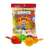 Fusion Select Jelly Fruity Snack Tik Tok Challenge Hit or Miss Asmr Challenge - Fruit-Shaped Jelly- Assorted Flavors, Strawberry, Orange, Apple, Pineapple, Grape, Mango (Bag)