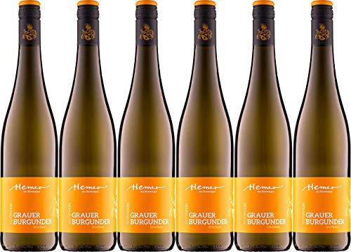 Hemer Grauer Burgunder 2019 Trocken Ecovin Bio (6 x 0.75 l)