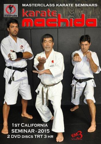 2 DVD Box Masterclass Machida Karate Seminar 2015