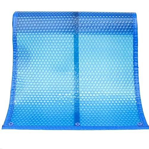Lona Cobertor Piscina Cubierta Piscina Blue Solar con El Borde de Perforación, Trabajo Pesado de Burbuja por Ayuda a Retener el Calor y Las Paradas de Evaporación del Agua