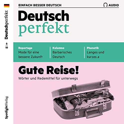 Deutsch perfekt Audio. 6/2019 Titelbild