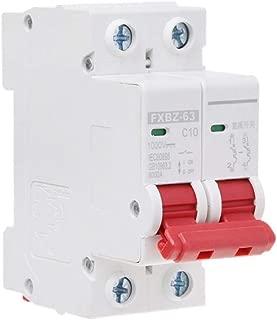 6A//10A//16A//20A//32A//50A//63A Miniature Disjoncteur 2P énergie solaire air Switch