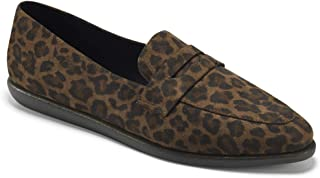 Aerosoles Women's Valentina Driving Style Loafer, Leopard Combo, 7