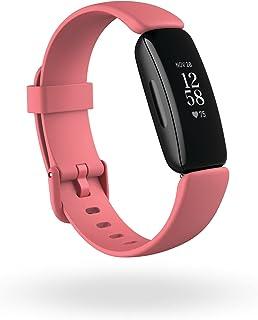 Fitbit Inspire 2 hälso- och fitnessmätare med en gratis 1-års premiumtest, puls dygnet runt och upp till 10 dagars batteri
