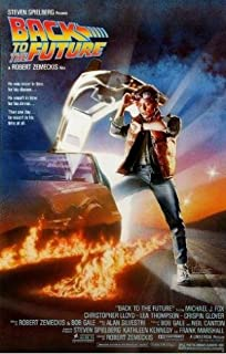 Lawrence Painting Hot Sale Back To The Future Poster Prints High Quality Picture Nice Movie Style Custom Poster 50X75Cm C27